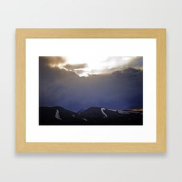 He Wishes for the Cloths of Heaven Framed Art Print