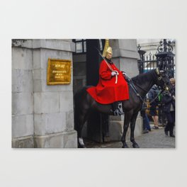 Biters and Kickers in London Canvas Print