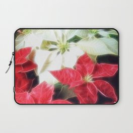 Mixed Color Poinsettias 2 Angelic Laptop Sleeve