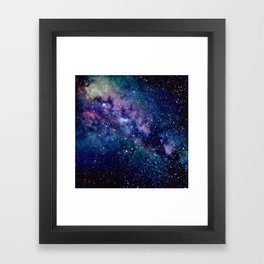 Milky Way Framed Art Print