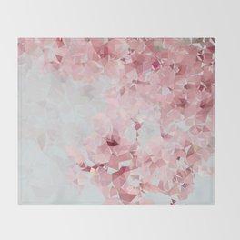 Meshed Up Sakura Blossoms Throw Blanket