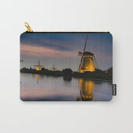 Dutch Wind Mills Carry-All Pouch