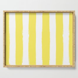 Hamptons Collection (Canary Yellow & White) Serving Tray