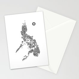 Paranormal Philippines (white) Stationery Cards