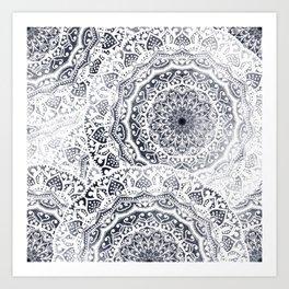 BOHOGIRL MANDALAS Art Print
