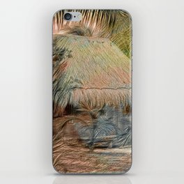 Mexico Hut Strong oils iPhone Skin