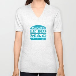 Pulp Fiction - Le big mac Unisex V-Neck