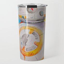 BB8 watercolor painting Travel Mug