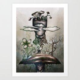 My favorite mushroom Art Print