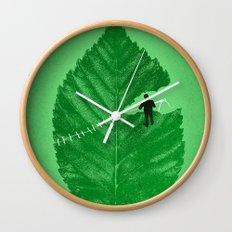 Loose Leaf Wall Clock