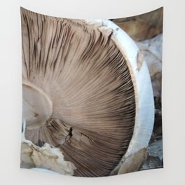 TEXTURES -- Mushroom Uprooted Wall Tapestry