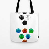 lincoln Tote Bags featuring Lincoln by NOLAN DEMPSEY