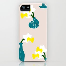 Daffodil Scribble iPhone Case