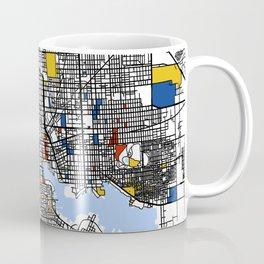 Baltimore Mondrian Coffee Mug