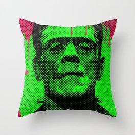 drippy Frank Throw Pillow