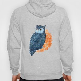 Blossoming owl Hoody