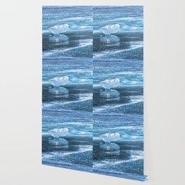 Ice diamond of Baikal Wallpaper