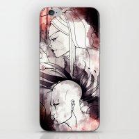 cyberpunk iPhone & iPod Skins featuring Cyberpunk by TheTaserMonkey