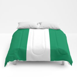 Nigerian Flag - Authentic High Quality HD Image Comforters