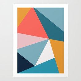 Modern Geometric 34 Art Print