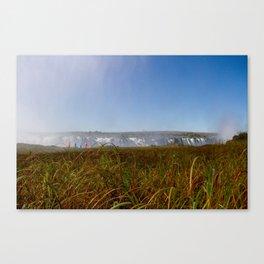 Waterfall Stroll Canvas Print