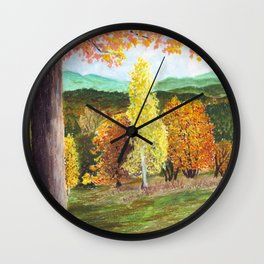 Green Hill Country Wall Clock