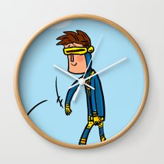 Cyclops Loves Baseball Wall Clock
