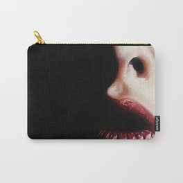 Red Lips Carry-All Pouch