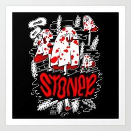 The Stoner Metal Art Print