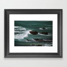 Praia do Castelejo, Portugal Framed Art Print