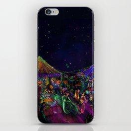 Magical Night Market iPhone Skin