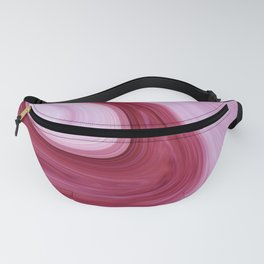 Pink Agate Fanny Pack