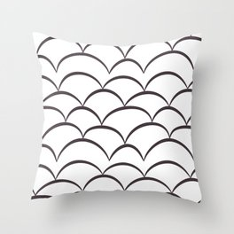 Stark Scales Throw Pillow