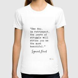 Sigmund Freud quote T-shirt