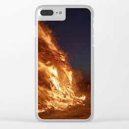 Easter fire - the winter is over (2) Clear iPhone Case