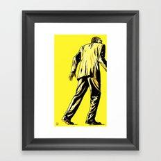 Giallo Framed Art Print