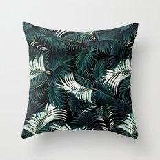 TROPICAL JUNGLE - Night Throw Pillow