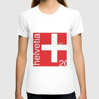 switzerland T-shirts featuring Switzerland stamp  by Little Parcels Shop