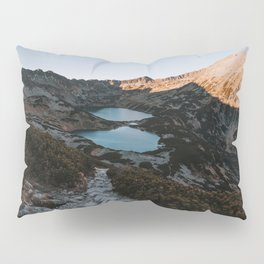Mountain Ponds - Landscape and Nature Photography Pillow Sham
