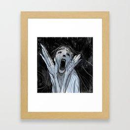A Scream Framed Art Print