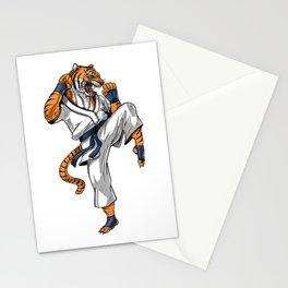 Tiger Karate Stationery Cards