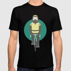 Cyclesquatch Black MEDIUM Mens Fitted Tee