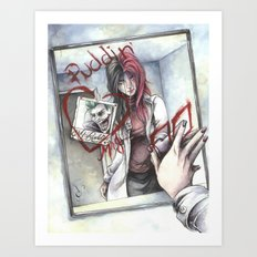 Dr. Harleen Quinzel Art Print