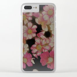 Blush of Cosmos Clear iPhone Case