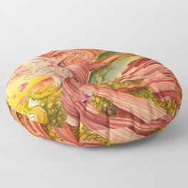 Once Upon a Dragon Floor Pillow