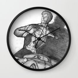 Daredevils Wall Clock