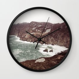 Slieve League in winter Wall Clock
