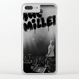 Mac Miller Live in Concert Music Swimming Clear iPhone Case