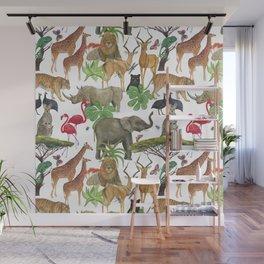 safari Wall Mural