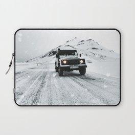 roadtrip in iceland Laptop Sleeve
